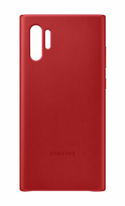 Official-Samsung-Galaxy-Note-10-Red-Leather-Protective-Cover-Case-EF-VN975L
