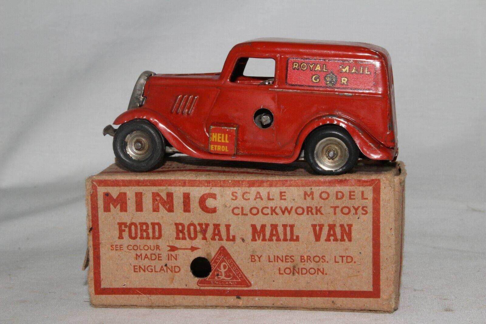 mejor precio 588ms Tri-Ang Minic Minic Minic Ford Royal Mail Furgoneta con Original Caja  más vendido