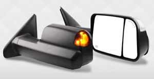 JDMSPEED Power Heated    Tow    Mirrors Fit For    02   08    Dodge       Ram