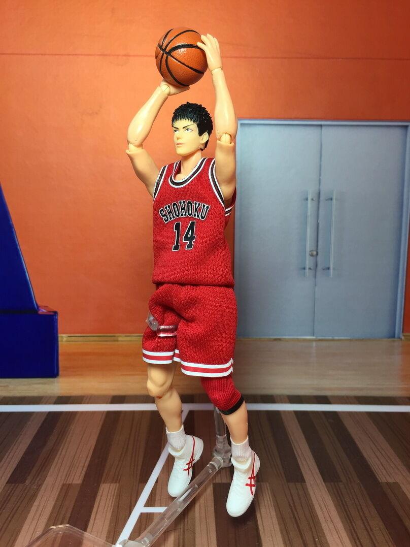 DT Dreamtoys 6 in (environ 15.24 cm) Action Figure Anime SLAM DUNK Mitsui Hisashi Modèle