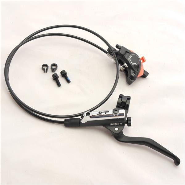 Shimano Deore XT Bremsen Set BL-T785 +  BR-M785 - 1000mm - black - VR - NEU  luxury brand