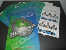 24 heures du mans 2009 PESCAROLO dossier de presse media press kit LMP1