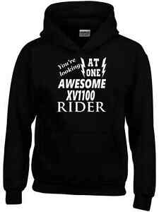 Awesome XV1100  Rider Hoodie New Funny Biker Ideal Gift