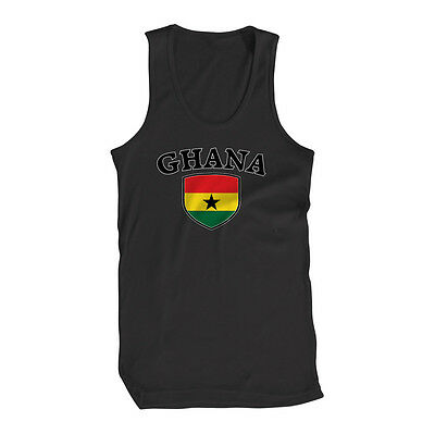 Ghana Flag Country Chest Tank Top Shirt
