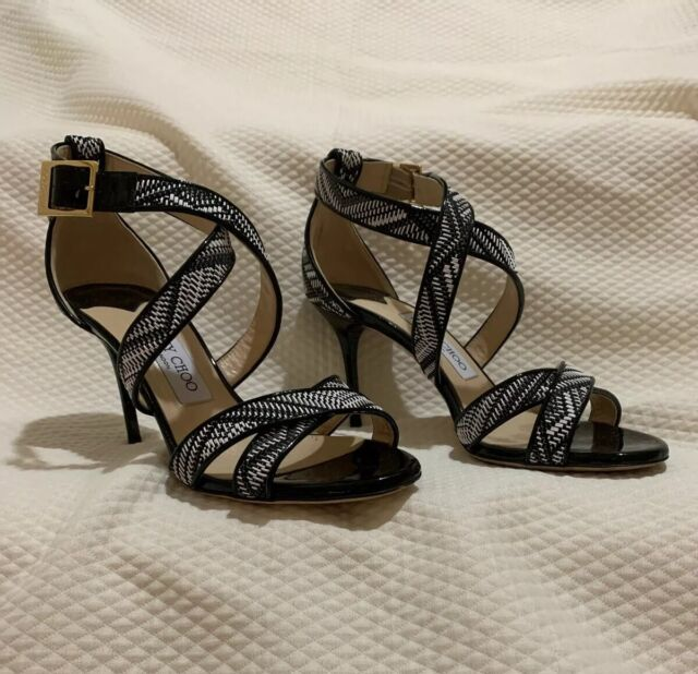 Jimmy Choo Annie Black Womens Shoes