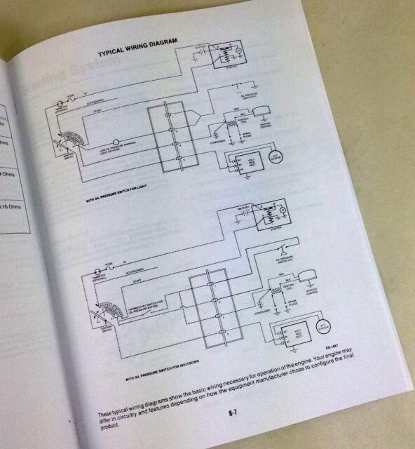 John Deere 318 420 316 Lawn Garden Tractor Engine Service Manual ...