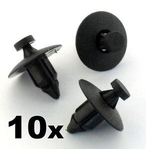 Ford Pare-choc moulage garniture panneau Attachez trim panel clips 10x