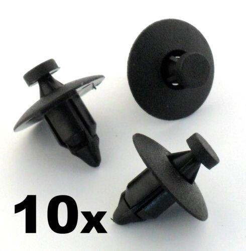paraurti fasce rivestimenti HONDA 10x in plastica Rivet Trim Fastener Clips-Pannelli