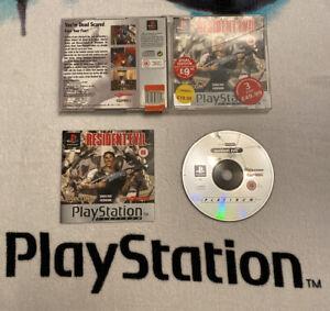 Resident-Evil-1-ps1-ps2-ps3-Sony-Playstation-1-komplett-UK-PAL-Platinum-Edition