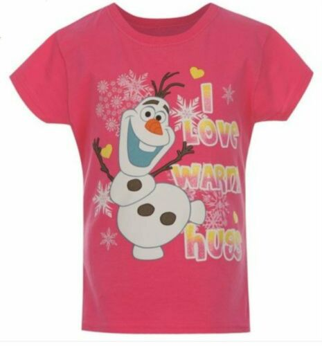 NEW DISNEY/'S FROZEN OLAF CHARACTER T SHIRT