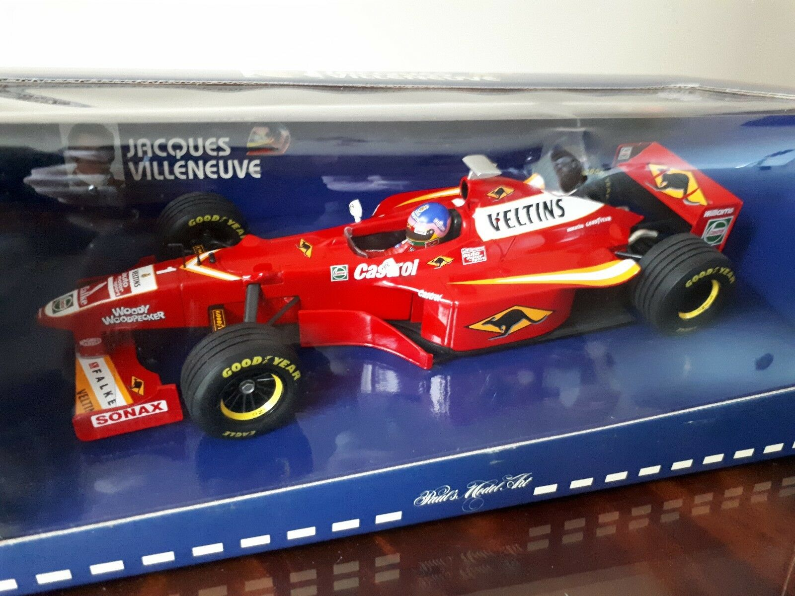 1:18 Paul's Paul's Paul's Model Art F1 WILLIAMS RENAULT FW20 #1 JACQUES VILLENEUVE 1998 | Des Performances Fiables