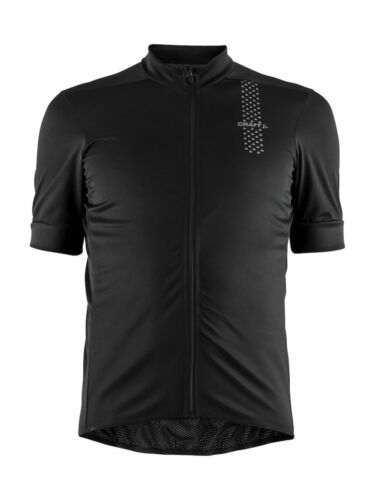 Craft Mens Rise Cycling Jersey Black