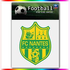 "FC Nantes UEFA Die Cut Vinyl Sticker Car Bumper Window 4""x3"""