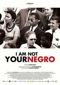 I Am Not Your Negro Movie Poster 24x36 - Samuel L James Baldwin v1 Jackson