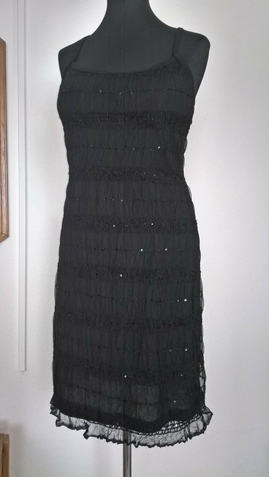 NEU NEU NEU Spitzen Kleid,ABENDKLEID,schwarz Gr.40,knielang,Sommerkleid,Trägerkleid NEU   Optimaler Preis    Langfristiger Ruf    Verrückter Preis  551cd4