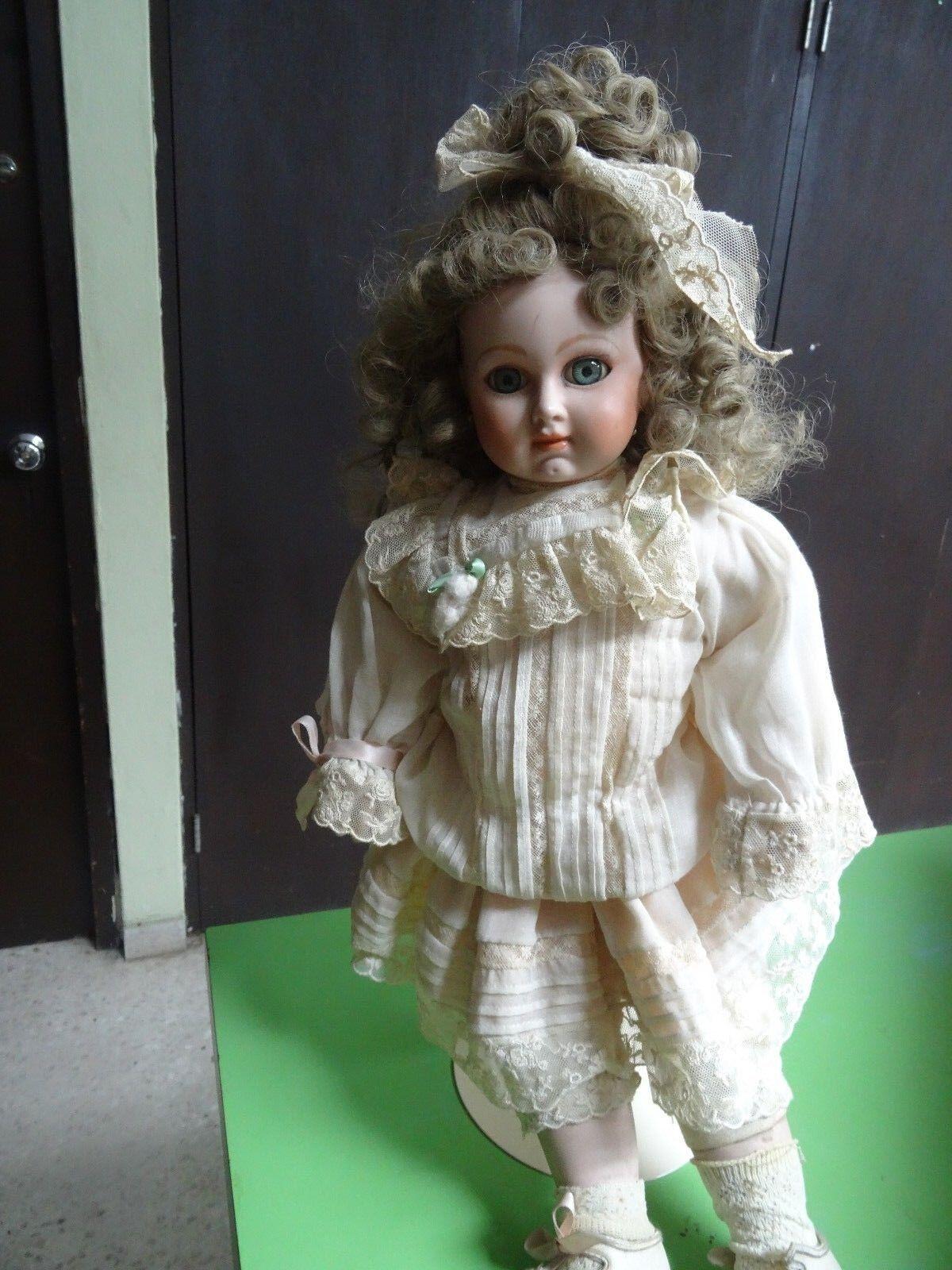 Franklin Heirloom Bebé Jumeau Doll Reproduction