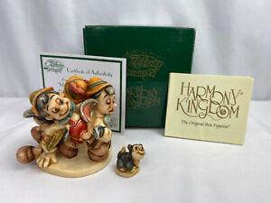 2004-Disney-Harmony-Kingdom-034-Many-Moods-of-Pinocchio-034-LE-of-500