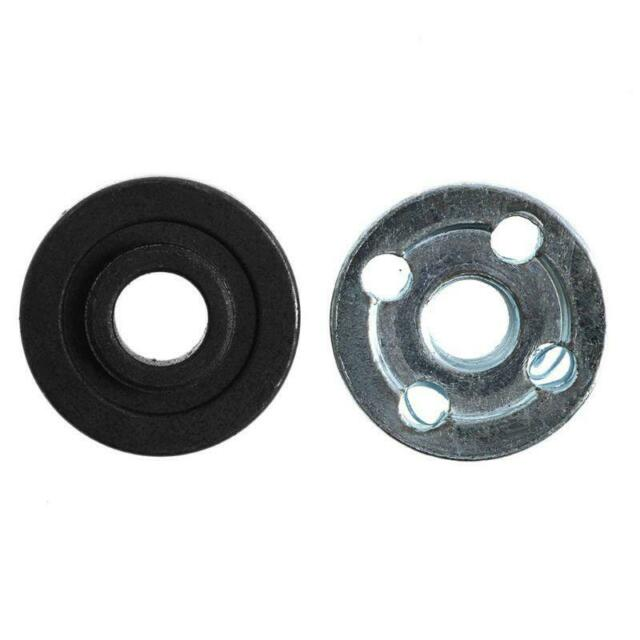 2Pcs Angle Grinder Replacement Part Inner Outer Flange Set Fits for Makita 9523