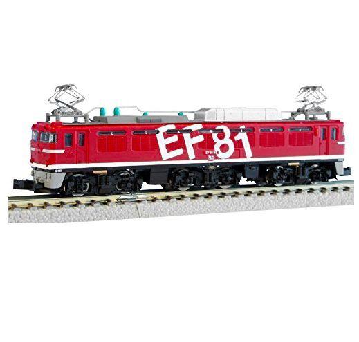 Rokuhan t015-3 electric locomotive type ef81 rainbow-z