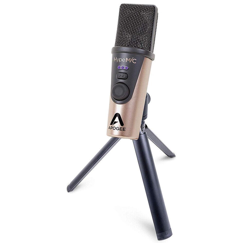 Apogee Digital HypeMic USB Microphone w  Built-In Analog Studio Compressor