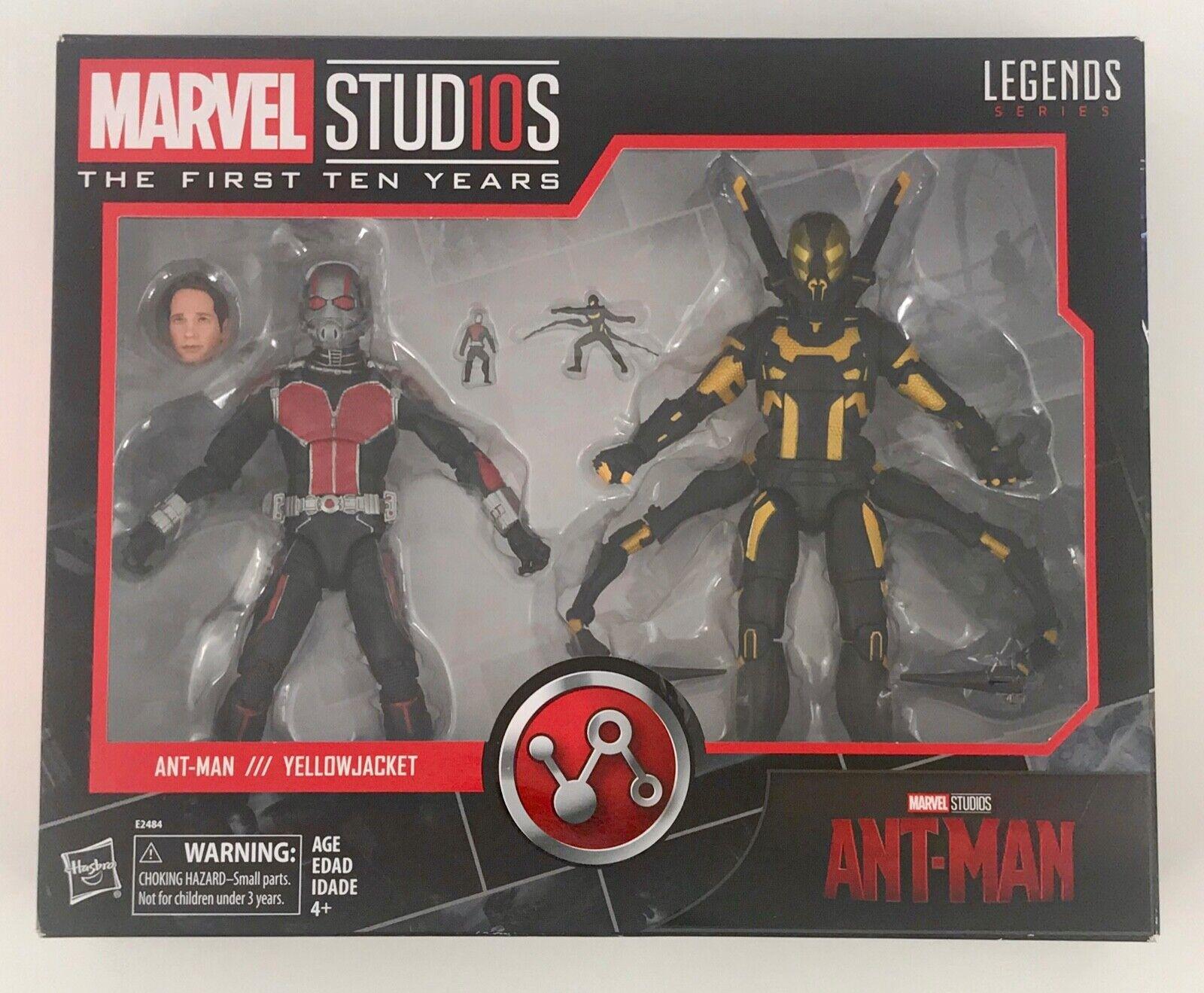Leyendas Ant-Man & Marvel amarillojacket Marvel Studios los diez primeros años