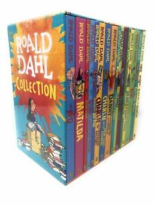 Roald-Dahl-Box-Set-16-Books-Collection-Brand-New-Edition