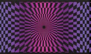 Image is loading Black-amp-Pink-Funky-Optic-Wallpaper-Border-60-