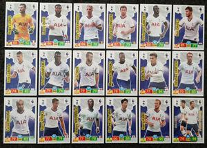 2019-20-PANINI-EPL-Soccer-Cards-Tottenham-Hotspurs-Full-Team-Set-18-cards
