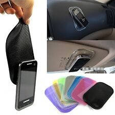 Desk Anti-slip Sticky Pad Mat in Car for Gadgets Accessory car phone shelf an...
