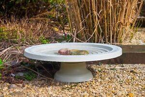Bird Bath Drinker Table Insects Shenstone Theatre Garden Circular Natural Stone Bird & Wildlife Accessories