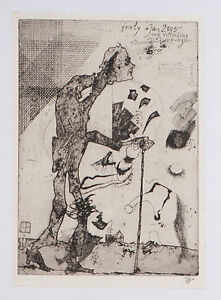 Horst-Janssen-034-friely-in-the-Year-2005-034-Etching-galv-Aller