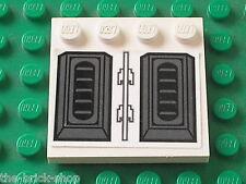 LEGO Star Wars White tile ref 6179 with stickers / Set 7676 Republic Gunship