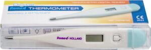 Hilfsmittel Messgeräte & Tests Romed Fieberthermometer Digital Fiebermesser 1 Stück Herausragende Eigenschaften