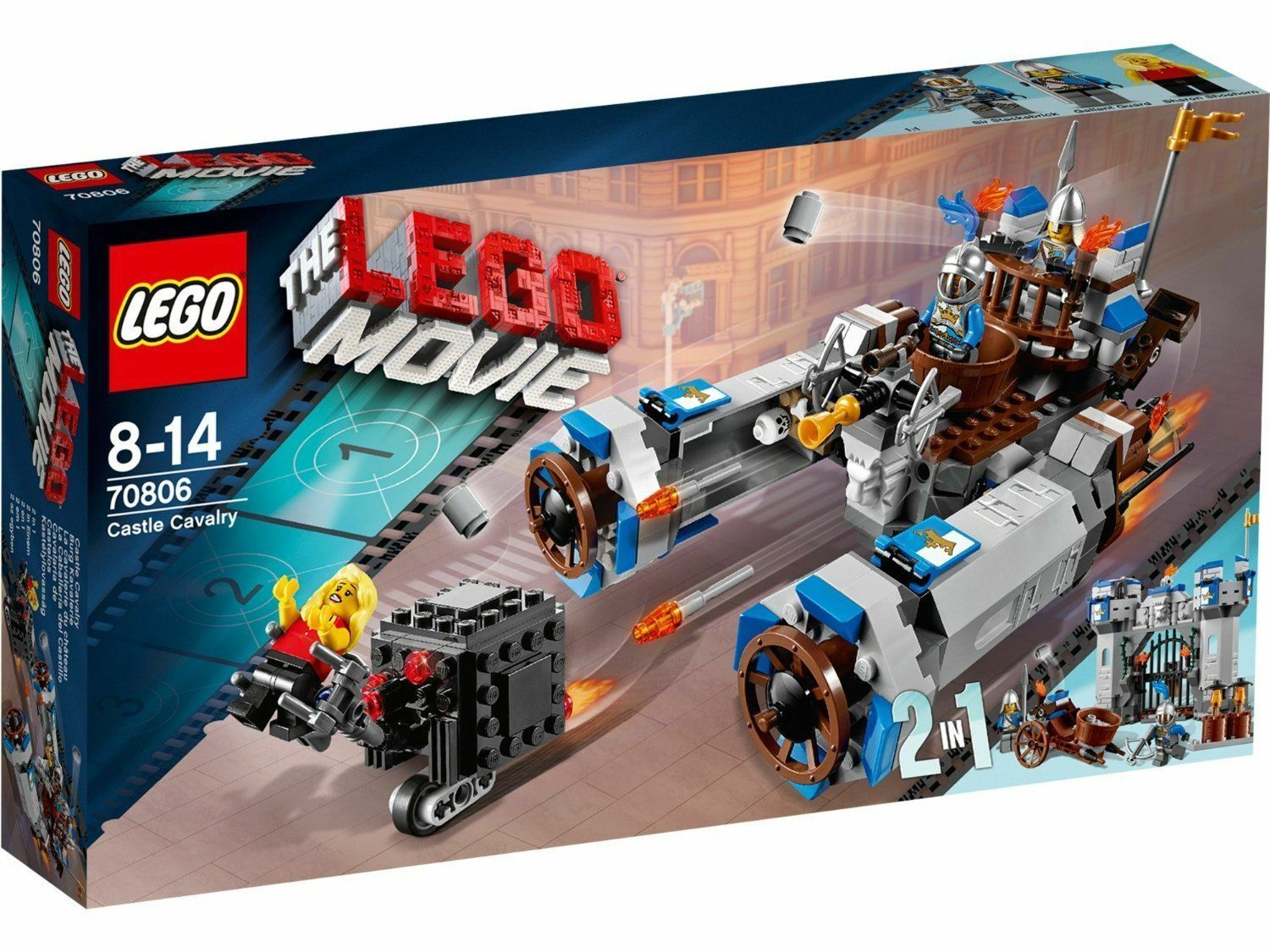 LEGO ® THE LEGO MOVIE 70806  Burg Kavallerie  NEU&OVP  VERSIEGELT