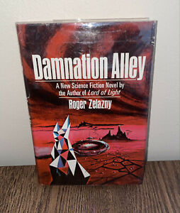 Damnation Alley Signed ~ ROGER ZELAZNY ~ First Edition ~ 1st Printing Hardcover