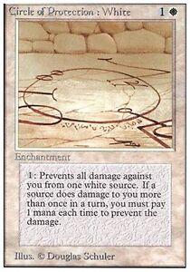 Blanc MTG Magic Unlimited eng NM 2x Circle Of Protection