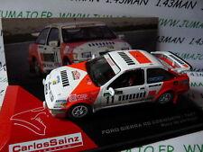 voiture 1/43 IXO altaya Rallye C.SAINZ : FORD SIERRA Rs cosworth 1987 Portugal