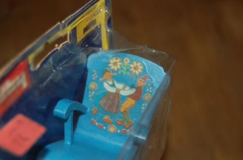 LUNDBY  rocking chair 4329 bleu à motifs ////C7////