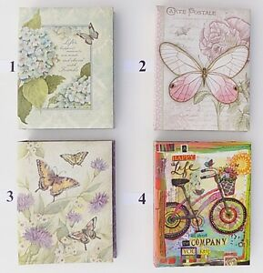 lang 3 ring padded address book collection 4 designs free