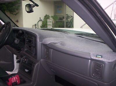 Chevrolet Colorado 2015-2019 No FCA Velour Dash Cover Mat Black