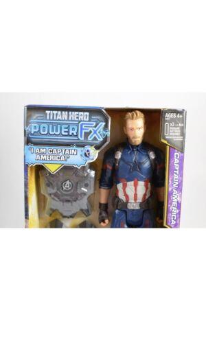 Marvel Avengers Infinity War Captain America Titan Hero Power FX Figure MIB 2017