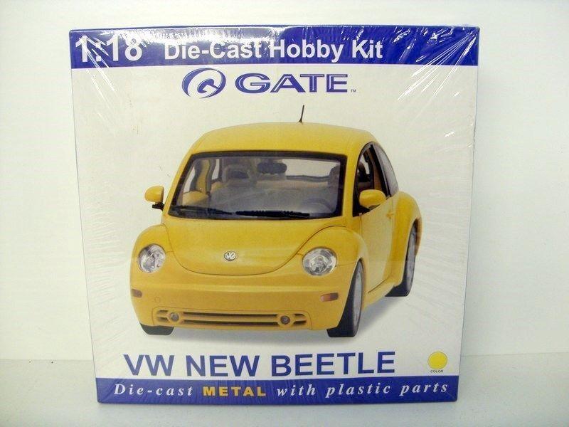 GATE 1 18 DIECAST KIT 06036 - VW NEW BEETLE Gelb