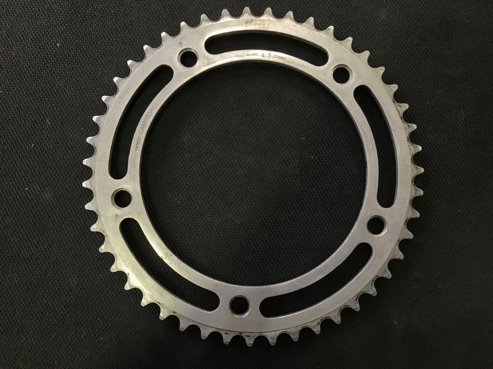 Campagnolo Record Pista Track Chainring 47t 151BCD 1 8  Fixed Gear