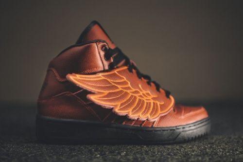 cee8472ea3f7 adidas Originals JS Jeremy Scott Wings Bball Basketball GS Unisex S77803 Sz  6 for sale online