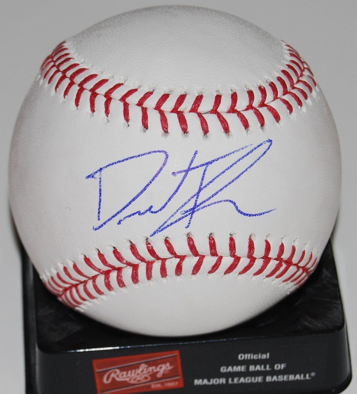 David Thompson Signé ( Neuf Neuf Neuf York Mets ) Officiel Major League Baseball W / Coa dbd821