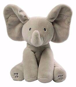 Elefante-De-Juguete-Lindo-Flappy-Bebe-Regalo-Animado-Cantando-12-034-RRP-39-95