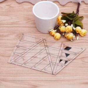 Quilting-Sewing-Tool-Diamond-Shaped-Acrylic-Ruler-Quilt-Patchwork-Template-Hot