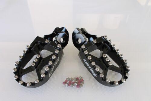 2017-2019 -BK5516 AIRTIME BILLET CNC FOOT PEGS BLACK KTM 500 450 350 250 EXC-F