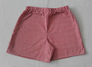 62bec2364 Image is loading Gingham-School-Uniform-Shorts-All-Colours-amp-sizes