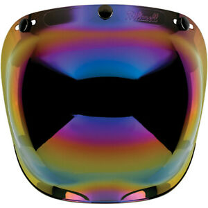 BILTWELL-BULLE-casque-BUBBLE-RAINBOW-Visiere-bombee-antibuee-casque-3-pressions